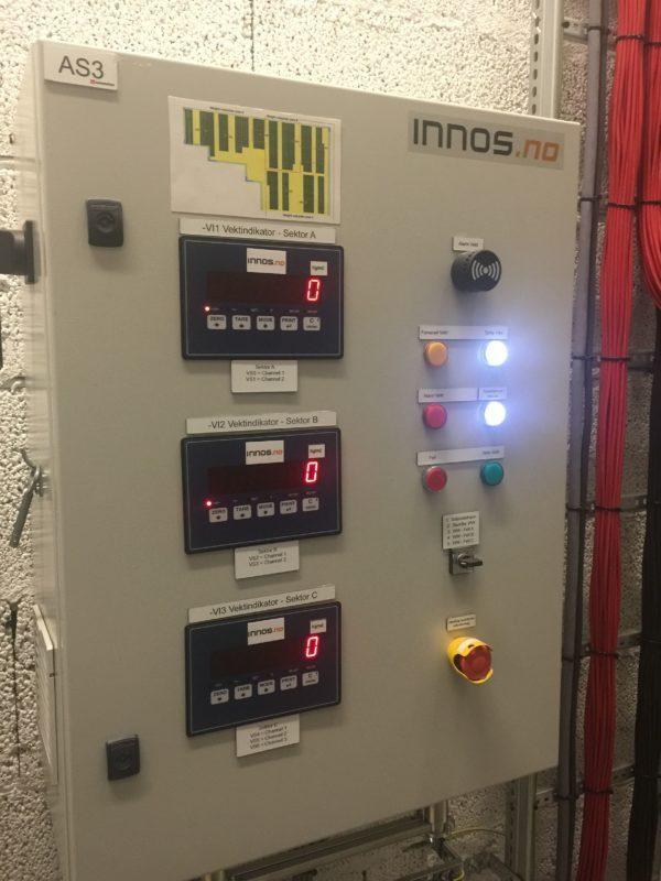 عملگر سیستم نظارت بر وزن برف روی پنل های خورشیدی