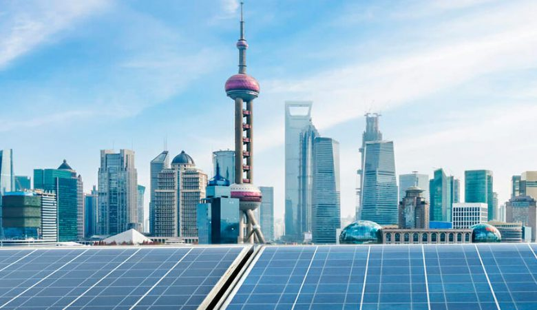 انرژی خورشیدی در چین