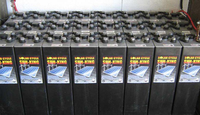 باتری سرب اسید خورشیدی
