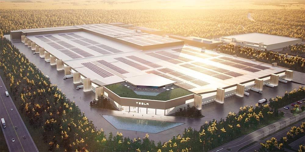 گیگافکتوری تسلا در اروپا مجهز به نیروگاه خورشیدی فتوولتاییک خواهد بود