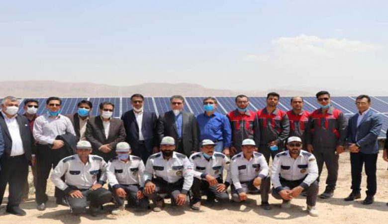 افتتاح نیروگاه-خورشیدی-استان-فارس
