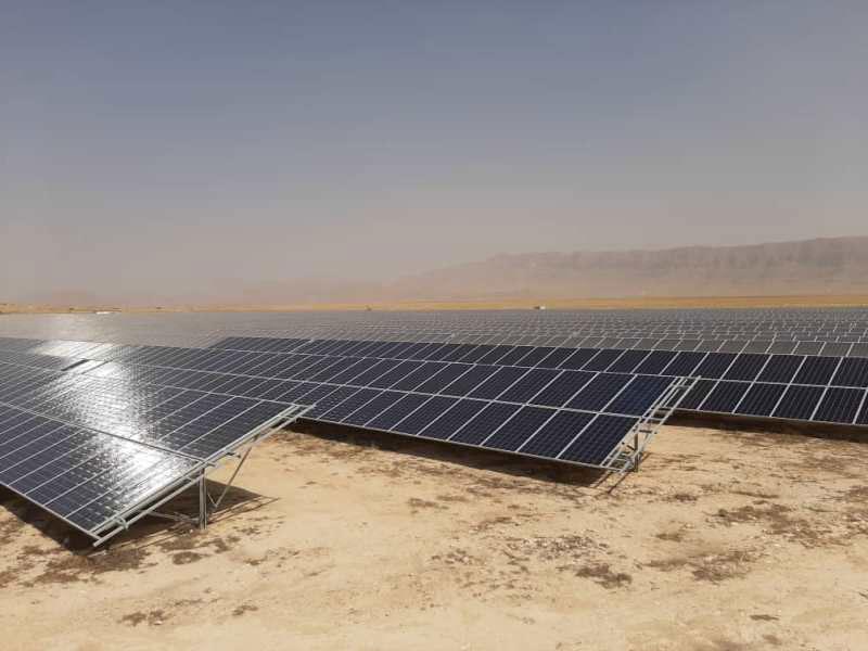 نیروگاه-خورشیدی-استان-فارس 10 مگاواتی
