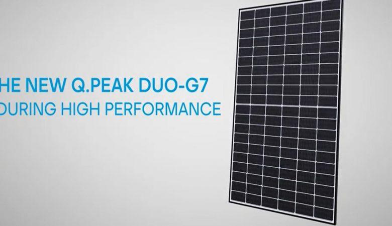 پنلهای خورشیدی سری Q.PEAK DUO-G7 کمپانی Q CELLS