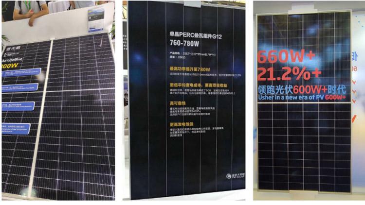 پنل خورشیدی توان بالا