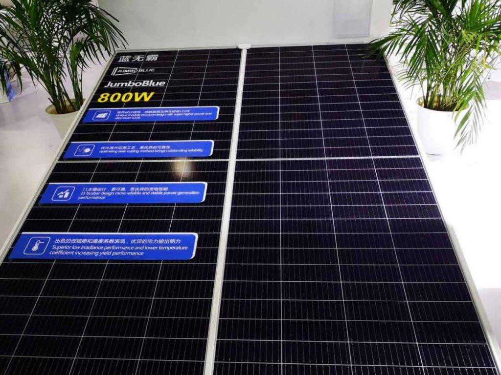 بزرگترین پنل خورشیدی جهان
