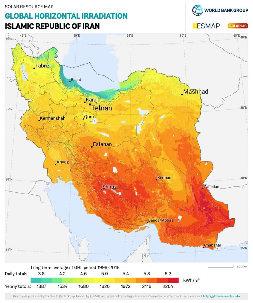پارامتر مهم در آمایش سرزمینی جهت انتخاب محل احداث نیروگاه خورشیدی فتوولتاییک