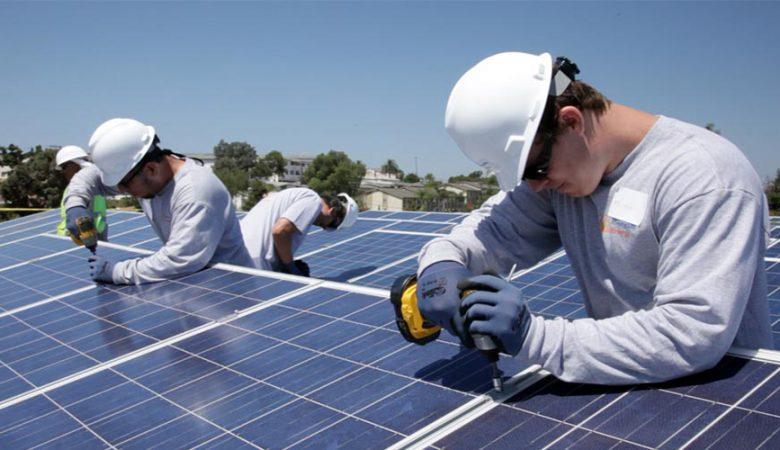نیروگاه خورشیدی پشت بامی