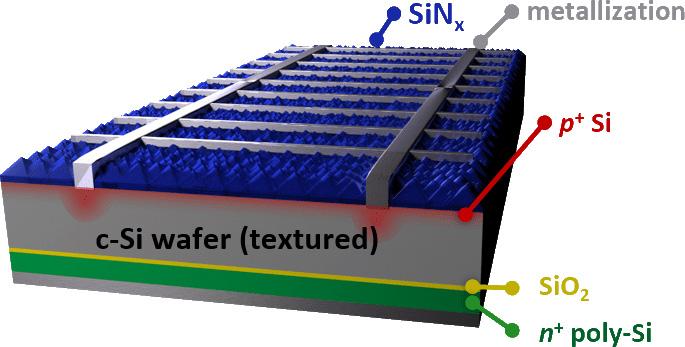 TOPCon solar cell
