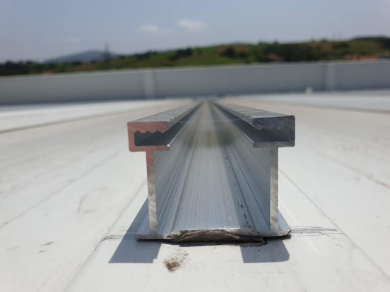 Adhesive mounting system for any kind of solar modules