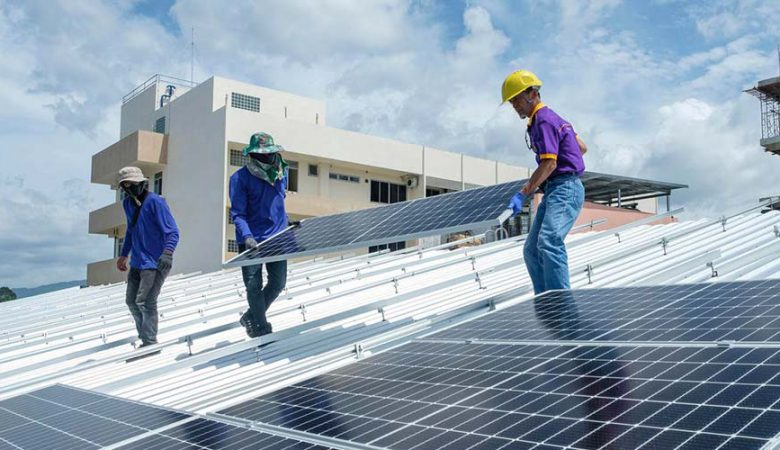 change rooftop solar power plant owner and site location